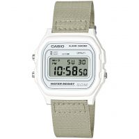 Unisexe Casio Classique Collection Cloth Alarme Chronographe Montre