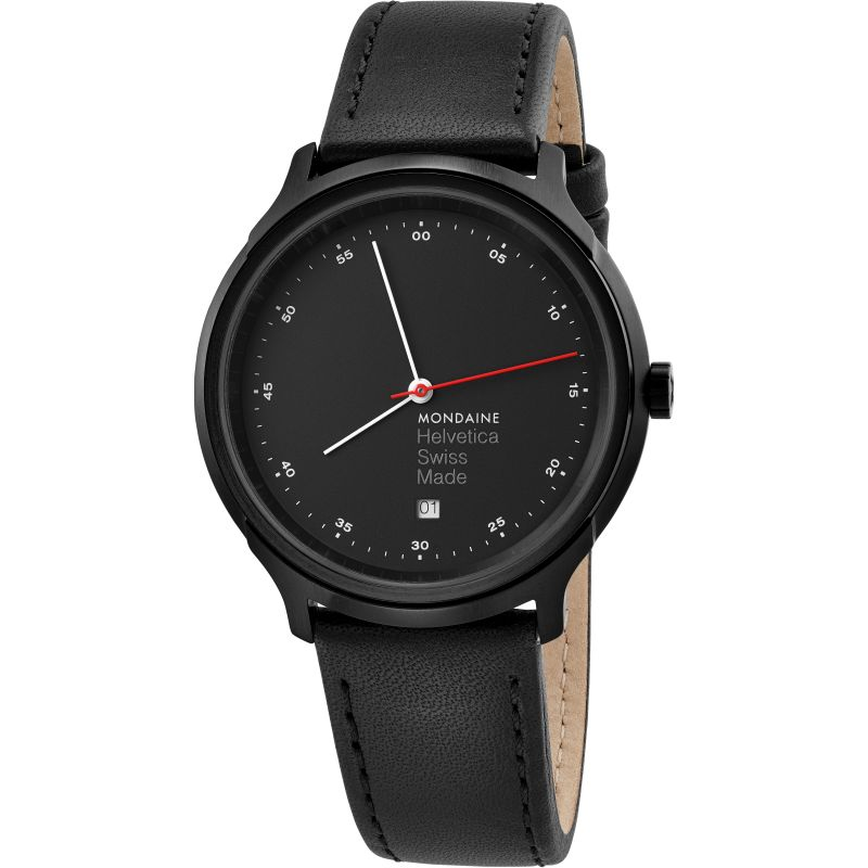 Unisex Mondaine Helvetica Regular Spiekermann Edition Watch MH1R2223LB