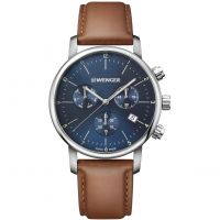homme Wenger Urban Classic Chrono Chronograph Watch 011743104