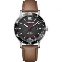 Wenger Roadster Black Night Herrklocka Brun 011841105