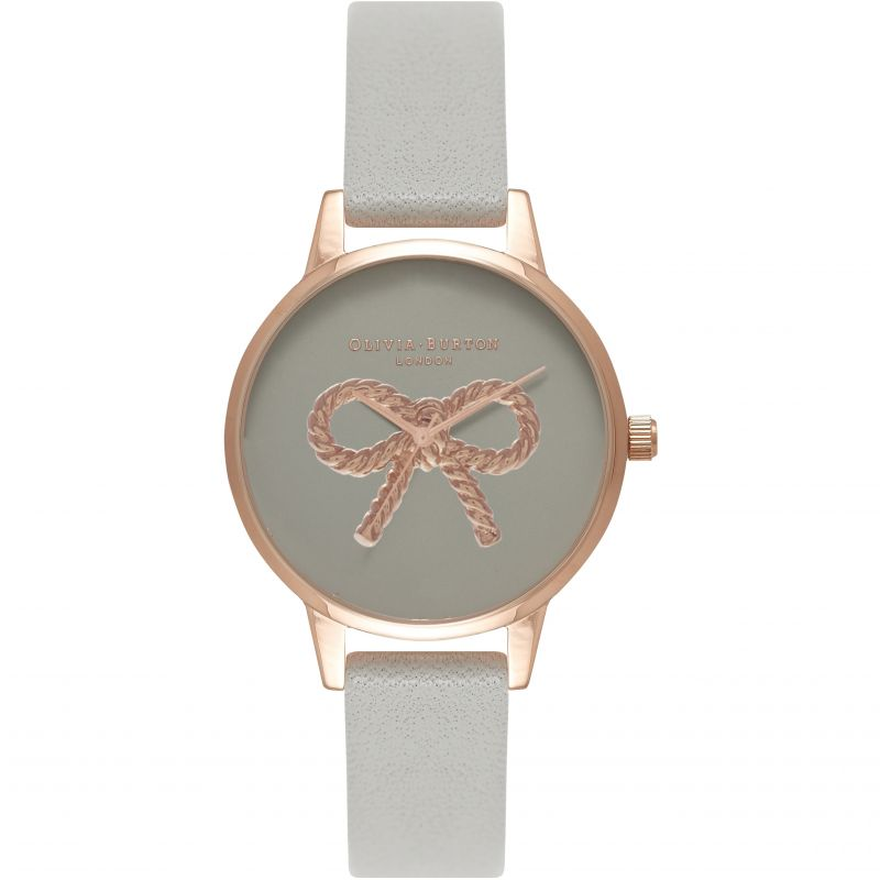 Ladies Olivia Burton Vintage Bow Watch OB16VB04