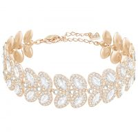 Ladies Swarovski Rose Gold Plated Baron Bracelet