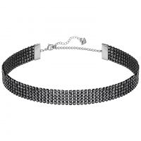 Ladies Swarovski Silver Plated Fit Refresh Necklace