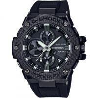 Casio G-Steel Bluetooth Triple Connect Carbon Herenchronograaf Zwart GST-B100X-1AER