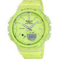 Damen Casio Baby-G Step Zähler Wecker Chronograf Uhren