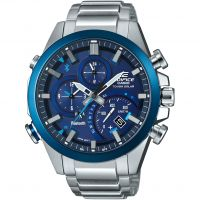 Herren Casio Edifice Bluetooth Chronograph Watch EQB-501DB-2AER