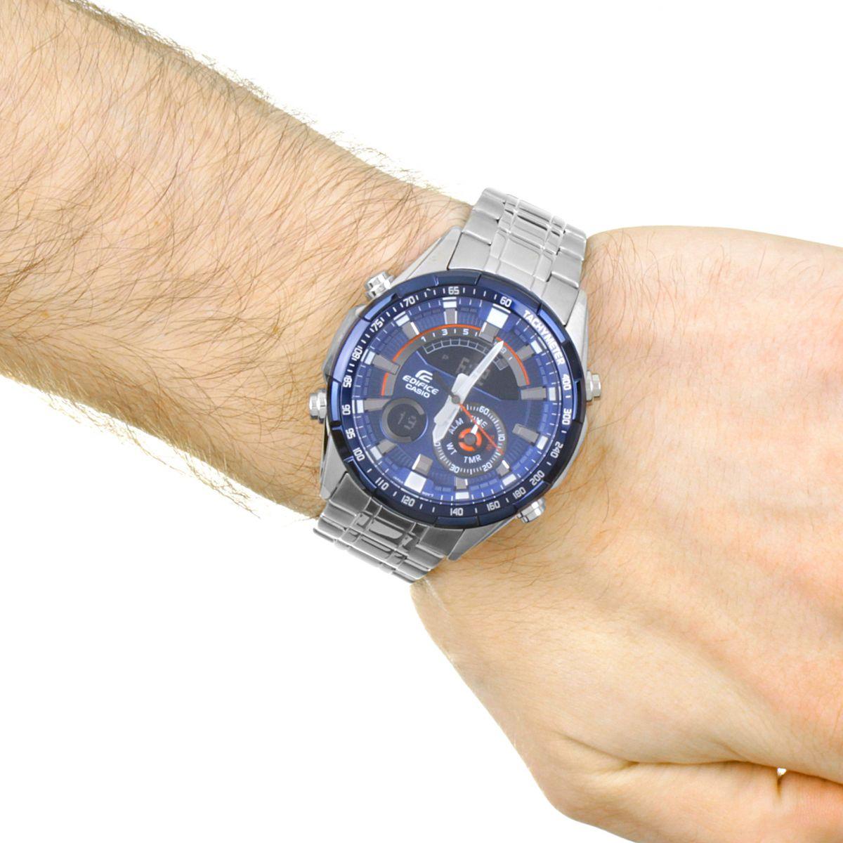 herren casio edifice racing blau serie wecker chronograf. Black Bedroom Furniture Sets. Home Design Ideas