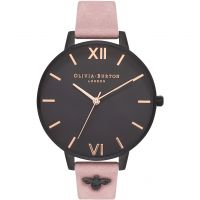 Ladies Olivia Burton 3D Bee After Dark Embellished Strap Watch