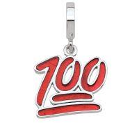 femme Persona 100 Percent Emoji Charm Watch H14981P1