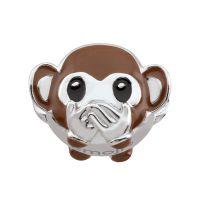 femme Persona Speak No Evil Monkey Emoji Bead Charm Watch H14990P1