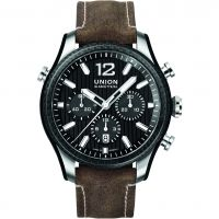Herren Union Glashuette Belisar Sport Chronograph Watch D0099272620700