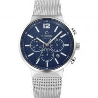 homme Obaku Chronograph Watch V180GCCLMC