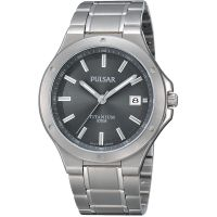 Mens Pulsar Titanium Watch