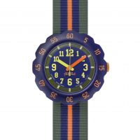 Kinder Flik Flak Orange Line Watch FPSP021