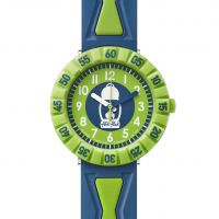 Flik Flak Get It In Breen Kinderenhorloge Blauw FCSP062