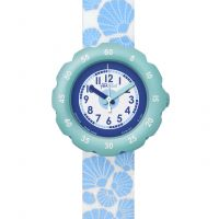 Childrens Flik Flak Soft Blue Watch