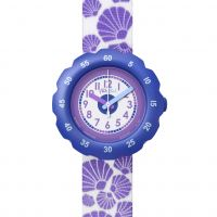 Kinder Flik Flak Soft Purple Watch FPSP016