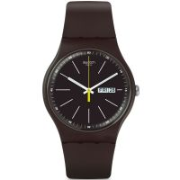Unisexe Swatch Bleu Browny Montre