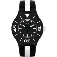 Unisexe Swatch B And W Profond Montre