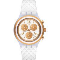Unisex Swatch Elepink Chronograf Uhren