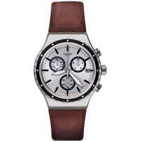 unisexe Swatch Grandino Chronograph Watch YVS437