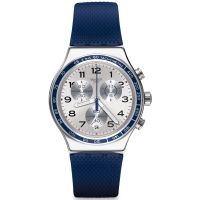 Herren Swatch Frescoazul Chronograph Watch YVS439