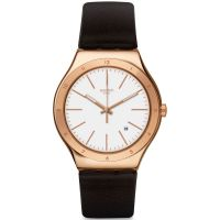 homme Swatch Tic-Brown Watch YWG405
