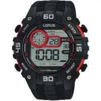 Mens Lorus Digital Alarm Chronograph Watch
