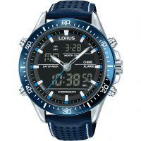 Herren Lorus Sport Wecker Chronograf Uhren