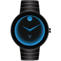 Movado Connect Android Wear Bluetooth Herrklocka Svart 3660015