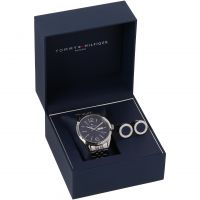 Mens Tommy Hilfiger Cufflink Box Set Watch