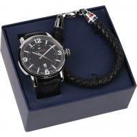 Mens Tommy Hilfiger Bracelet Gift Set Watch