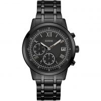 Guess Summit Herenchronograaf Zwart W1001G3