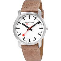 Herren Mondaine Simply Elegant Watch A6383035016SBG