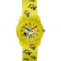 Timex Kids Analog x Peanuts Snoopy Woodstock WATCH