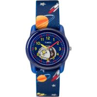 Childrens Timex Kids Analog x Peanuts Snoopy Out Of Space Watch TW2R41800