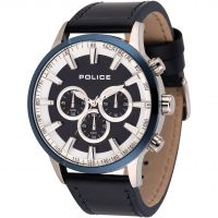 Herren Police Momentum Chronograph Watch 15000JSTBL/03