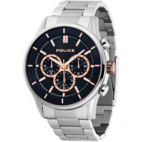 Herren Police Chronograph Watch 15001JS/03M