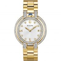 Damen Bulova Rubaiyat Watch 98R249