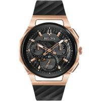 Mens Bulova Progressive CURV Chronograph Watch