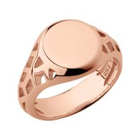 femme Links Of London Jewellery Sterling Silver Timeless Extension Ring Size N Watch 5045.6766