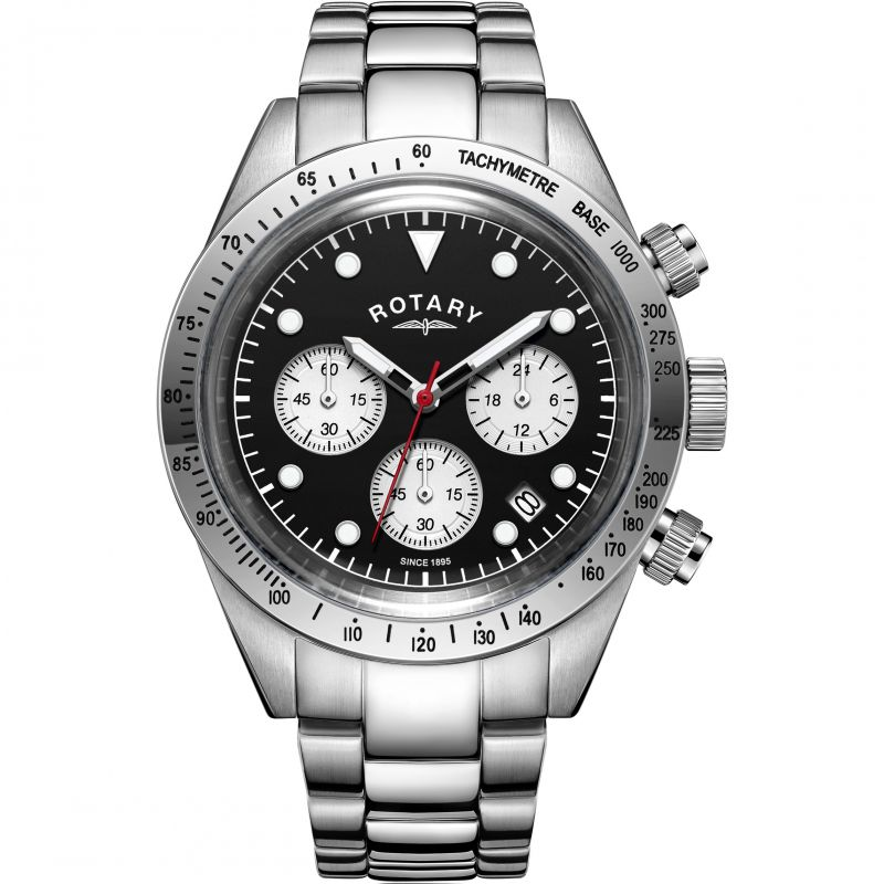 Herren Rotary Exclusive Vintage Chronograph Watch GB00600/04