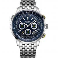 Herren Rotary Exklusives Pilot Uhren