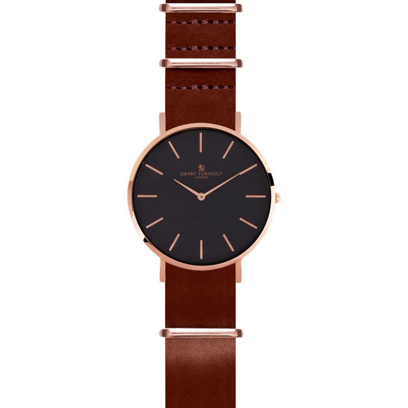 Zegarek męski Smart Turnout Master Watch Oak Leather STL3/RB/56/OAK
