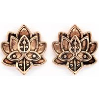 femme Chrysalis Bodhi Lotus Flower Earrings Watch CRET0408AR