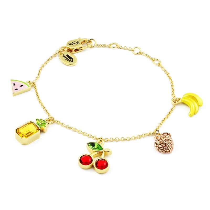 Sieraad Juicy Couture Jewellery Mixed Fruit Luxe Wishes Bracelet 39WJW117858-712