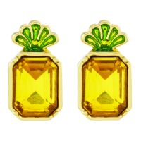 Sieraad Juicy Couture Jewellery Pineapple Wishes Earrings 39WJW117873-712