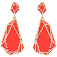 femme Karen Millen Jewellery Colour Shard Statement Earrings Watch KMJ1166-30-92