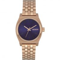 Nixon The Medium Time Teller Unisexklocka Rosa A1130-2763