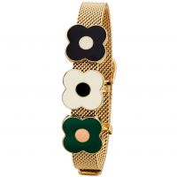 Orla Kiely Jewellery Abacus Flower Mesh Bracelet JEWEL